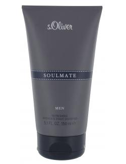 S.Oliver Soulmate Refreshing Shower & Shave Shampoo  (150 ml) - 4011700862122