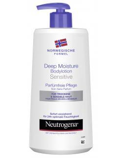 Neutrogena Deep Moisture Bodylotion sensitive  (400 ml) - 3574660527490