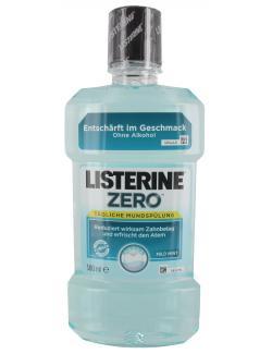 Listerine Mundspülung Zero  (500 ml) - 3574661026183