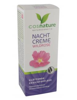 Cosnature Nachtcreme Wildrose  (50 ml) - 4030409091015