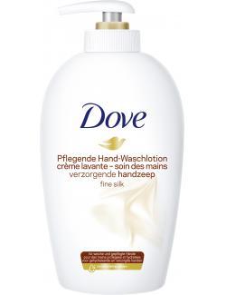 Dove Fine Silk Waschlotion weiße Orchidee  (250 ml) - 8717163605776
