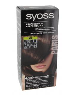 Syoss Professional Performance Coloration 4-98 Paris brown  (115 ml) - 4015000996051