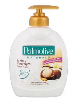 Palmolive Naturals Sanftes Vergnügen Macadamiaöl & Vanille Flüssigseife  (300 ml) - 8714789939704