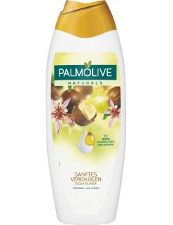 Palmolive Naturals Sanftes Vergnügen Cremebad Macadamiaöl + Kakao + Feuchtigkeitsmilch  (650 ml) - 8714789970806