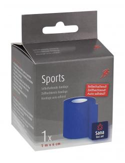 Sana first aid Sports Bandage selbsthaftend  (5 M) - 8712175932124