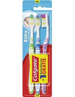 Colgate Extra Clean Zahnbürste medium  (3 St.) - 8714789365152