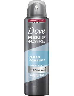 Dove Men+Care Clean Comfort Deo Spray  (150 ml) - 8712561254595