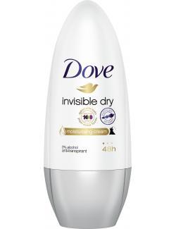 Dove Invisible Dry Anti-Perspirant/Anti-Transpirant Deodorant Roll-On  (50 ml) - 50120000