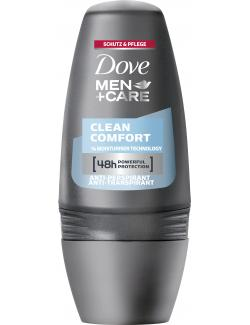 Dove Men+Care Clean Comfort Deo Roll-On  (50 ml) - 96081693