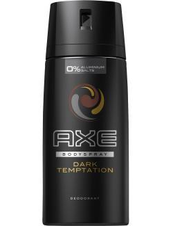 Axe Dark Temptation Deodorant Bodyspray  (150 ml) - 8717644256152