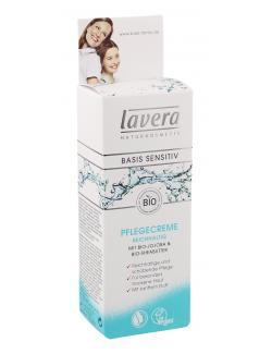 Lavera Basis Sensitiv Pflegecreme  (50 ml) - 4021457470051