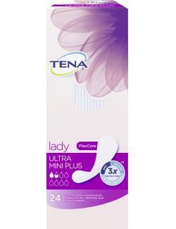 Tena Lady Slipeinlagen ultra mini plus  (24 St.) - 7322540225723