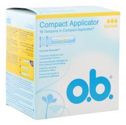 O.b. Compact Applicator Tampons normal  (16 St.) - 3574660363692