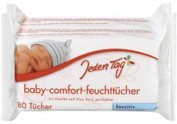 Jeden Tag Baby Comfort Feuchttücher sensitive  (2 x 80 St.) - 4306188281023