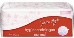Jeden Tag Hygiene-Einlagen normal  (14 St.) - 4306188281689