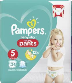 Pampers Baby Dry Pants Gr. 5 Junior 12-18 kg  (24 St.) - 4015400745037