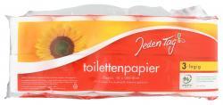 Jeden Tag Toilettenpapier 3-lagig  (10 x 200 Blatt) - 4306188345220