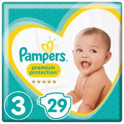 Pampers Premium Protection Gr. 3 Midi 5-9kg  (29 St.) - 4015400835936