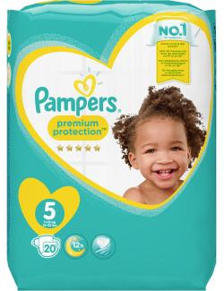 Pampers Premium Protection Gr. 5 Junior 11-23kg  (20 St.) - 4015400835370