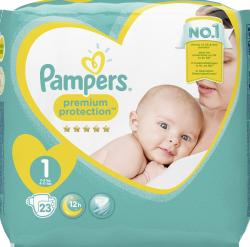 Pampers Premium Protection Gr. 1 newborn 2-5kg  (22 St.) - 4015400835776