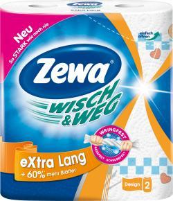 Zewa Wisch & Weg extra lang  (2 x 72 Blatt) - 7322540833270