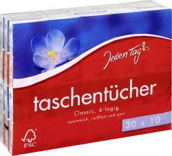 Jeden Tag Taschentücher classic  (30 x 10 St.) - 4306188351450