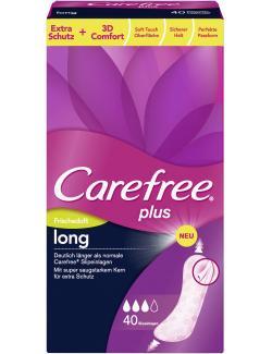Carefree plus Slipeinlagen long mit Frischeduft  (40 St.) - 3574661251462