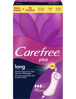 Carefree plus Slipeinlagen long  (4 St.) - 3574661251479