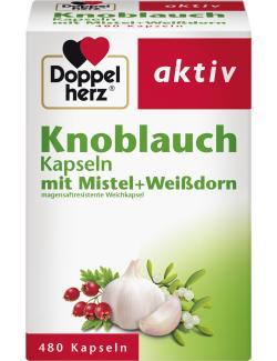 Doppelherz aktiv Knoblauch Kapseln  (480 St.) - 4009932003444
