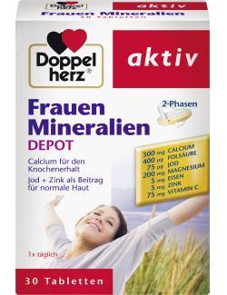 Doppelherz aktiv Frauen Mineralien Depot Tabletten  (30 St.) - 4009932007398