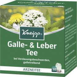 Kneipp Galle- und Leber Tee  - 4008233031026