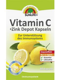 Sunlife Vitamin C + Zink Depot Kapseln  (60 St.) - 4022679101594