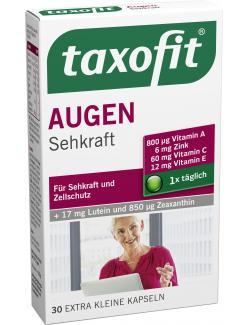 Taxofit Augen Plus Luein + Zeaxanthin Kapseln  (30 St.) - 4008617024569