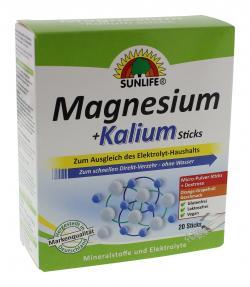 Sunlife Magnesium + Kalium Sticks  (20 St.) - 4022679112101