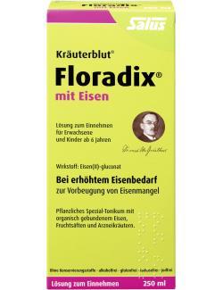 Salus Kräuterblut® Floradix® mit Eisen  (250 ml) - 4004148313523
