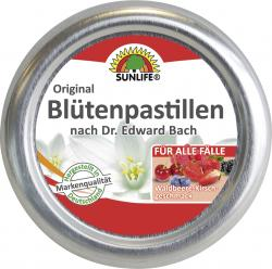Sunlife Original Blütenpastillen Waldbeere-Kirsch-Geschmack  (50 g) - 4022679119339
