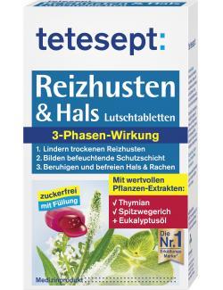Tetesept Husten & Hals Lutschtabletten  - 4008491115995