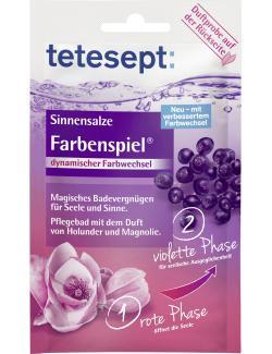 Tetesept Sinnensalze Farbenspiel Holunder & Magnolie  (65 g) - 4008491204576