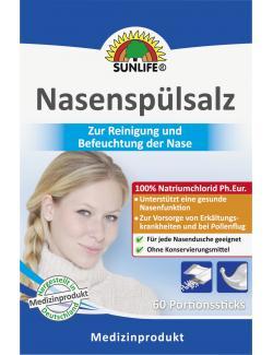 Sunlife Nasenspülsalz  (60 St.) - 4022679116529