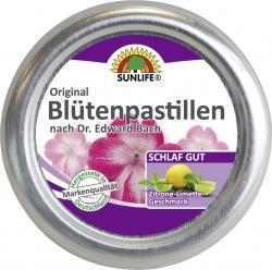Sunlife Original Blütenpastillen Zitrone-Limette-Geschmack  (50 g) - 4022679119520