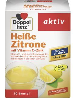 Doppelherz aktiv Heiße Zitrone mit Vitamin C+Zink  - 4009932009644