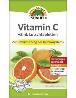 Sunlife Vitamin C + Zink Lutschtabletten  (30 St.) - 4022679119865