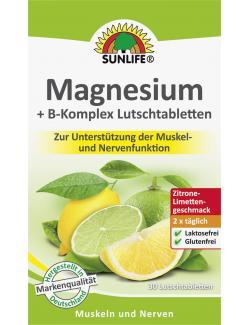 Sunlife Magnesium + B-Komplex Lutschtabletten  (30 St.) - 4022679119827