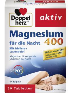 Doppelherz Magnesium für die Nacht  (30 St.) - 4009932007411