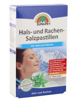 Sunlife Hals- und Rachen- Salzpastillen  - 4022679121981
