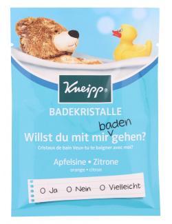 Kneipp Willst du mit mir baden gehen? Apfelsine-Zitrone Badekristalle  (60 g) - 4008233129259