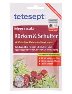 Tetesept Meeressalz Rücken & Schulter  (80 g) - 4008491431071