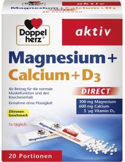 Doppelherz Magnesium +Calcium+D3  (20 St.) - 4009932001945