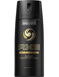 Axe Gold Temptation Deodorant Bodyspray  (150 ml) - 8712561466264