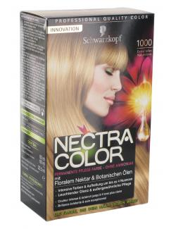 Schwarzkopf Nectra Color Pflege-Farbe 1000 extra helles Naturblond  (143 ml) - 4015000982382